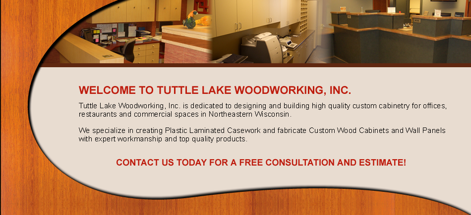 Welcome to Tuttle Lake Woodworking, Inc